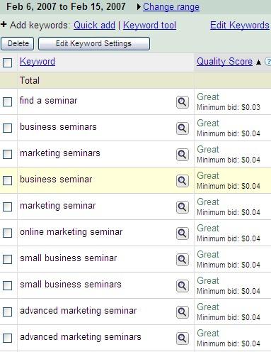 Google muestra la calidad de la páginaGoogle muestra la calidad de la página