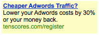 Adwords Ad With Numbers